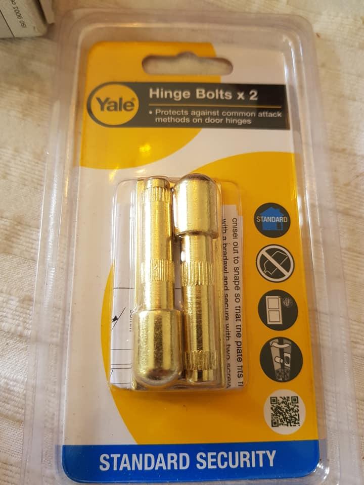 yale hinge bolts