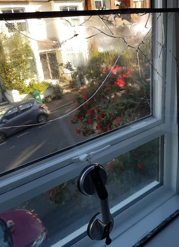 uPVC glass repair